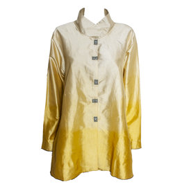 Deborah Cross Deborah Cross Fitted Shirt - Gold