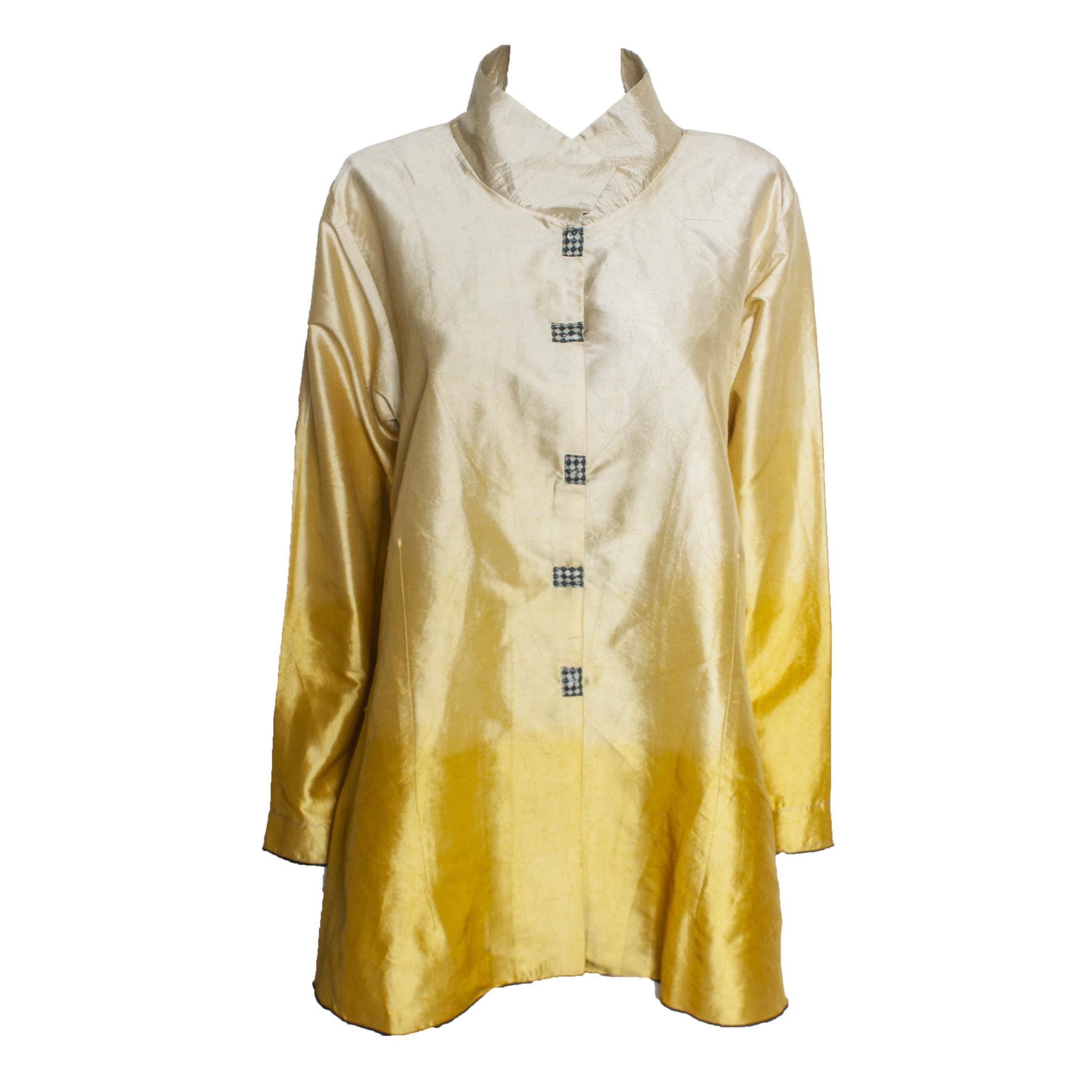 Deborah Cross Deborah Cross Fitted Shirt - Gold