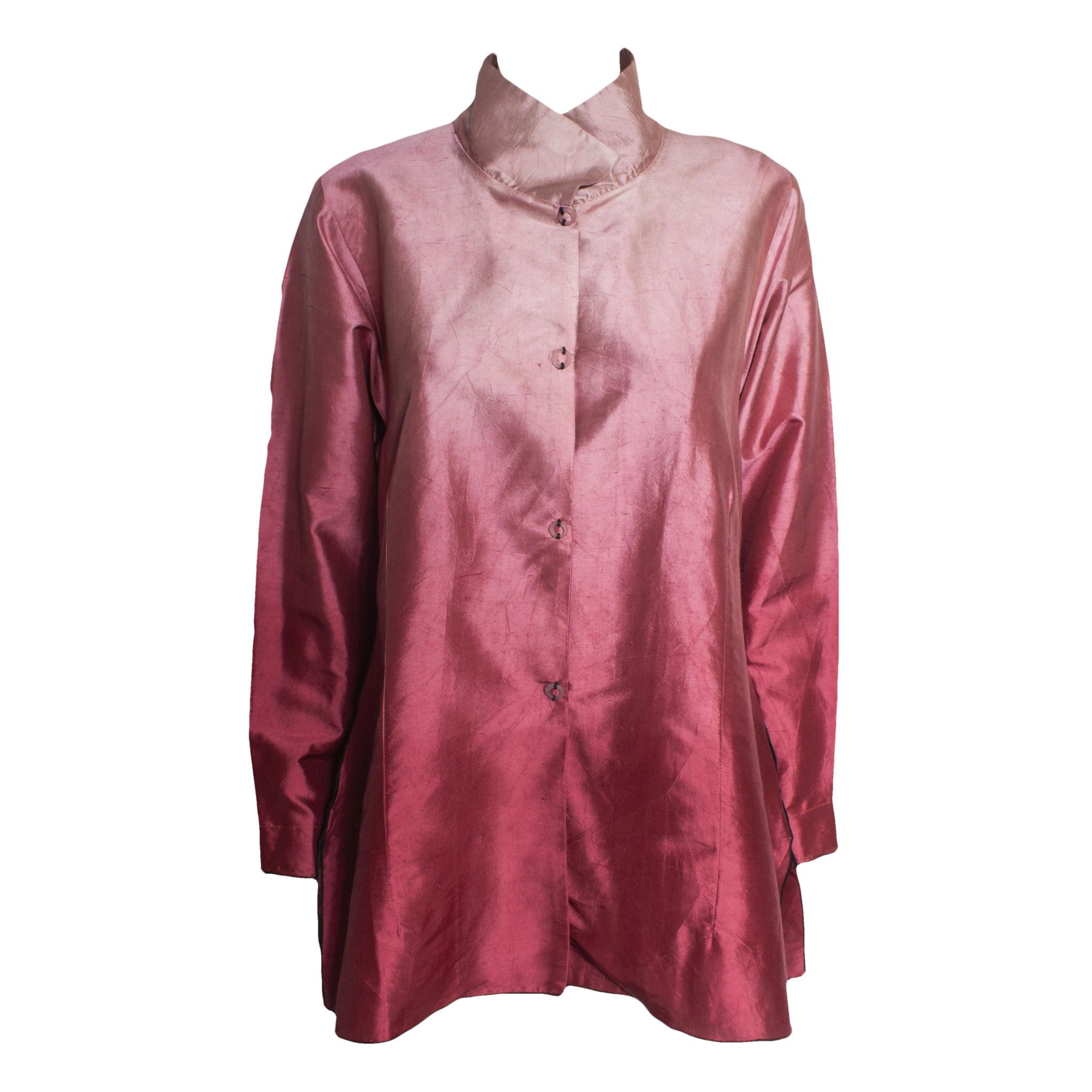 Deborah Cross Deborah Cross Fitted Shirt - Pink