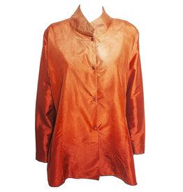 Deborah Cross Deborah Cross Fitted Shirt - Orange