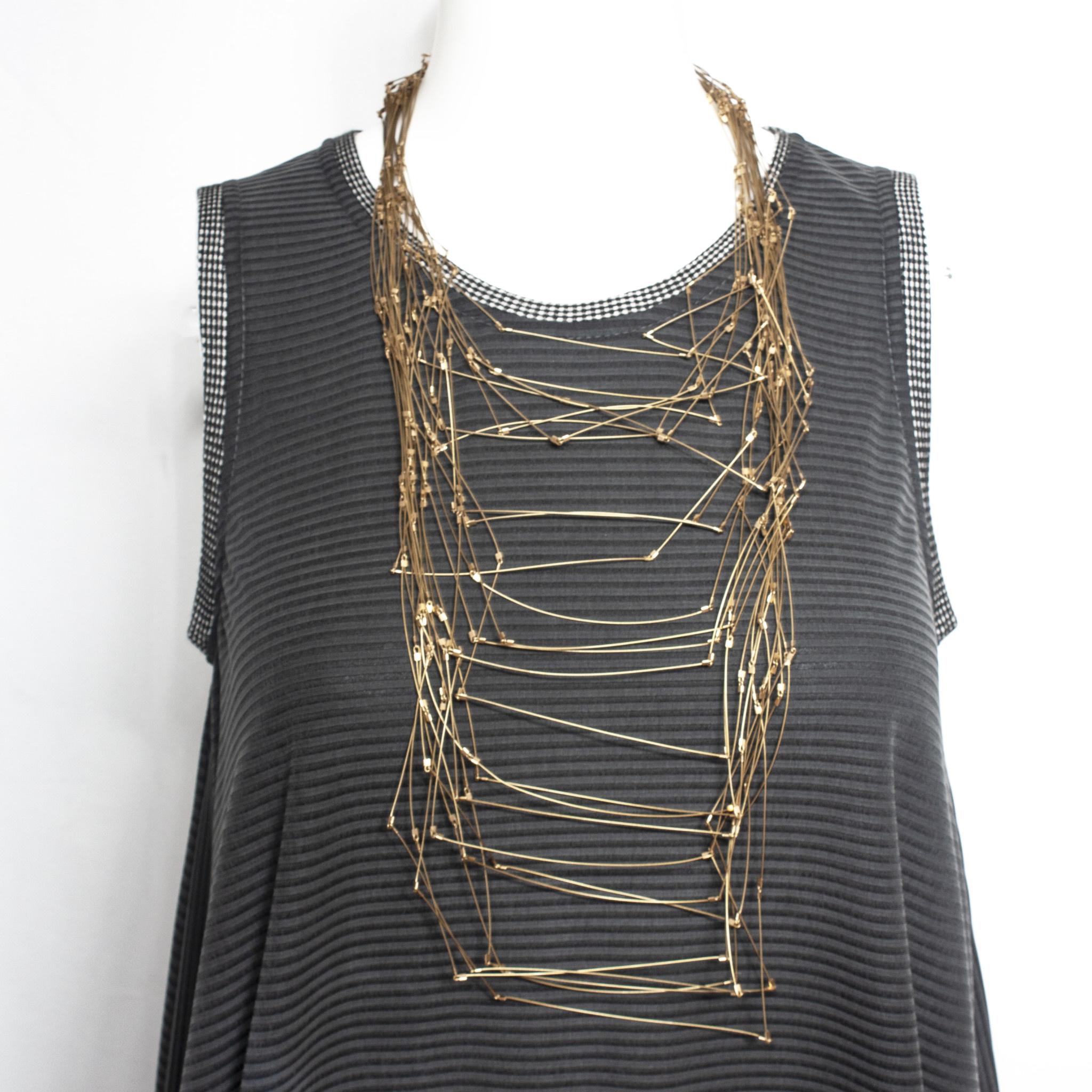 Meghan Patrice Riley Meghan Patrice Riley Maxi Line Segments Necklace