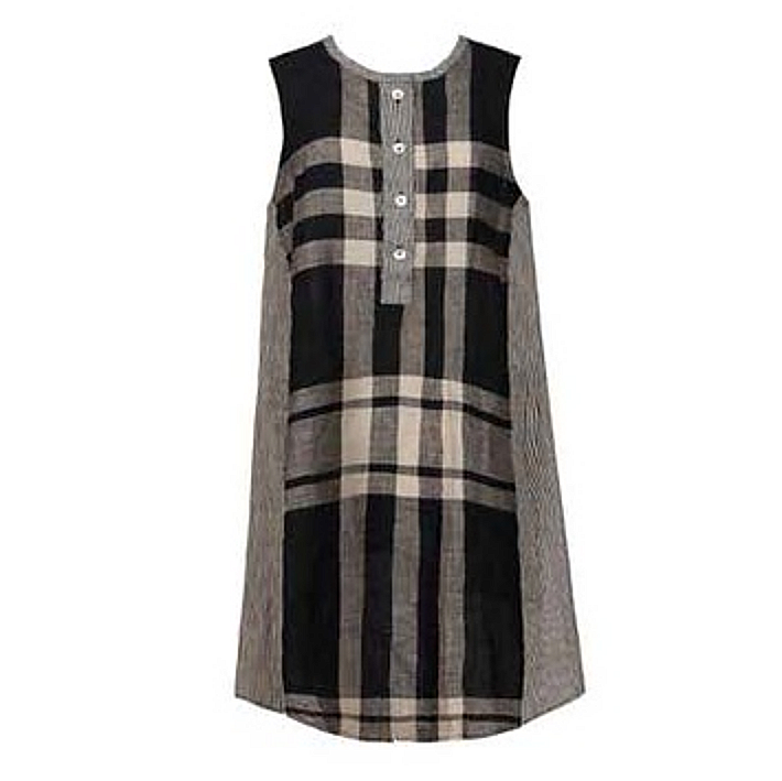 Alembika Alembika Pinplaid Tank Dress - Multi