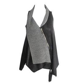 Xenia Xenia Baja Vest - Charcoal