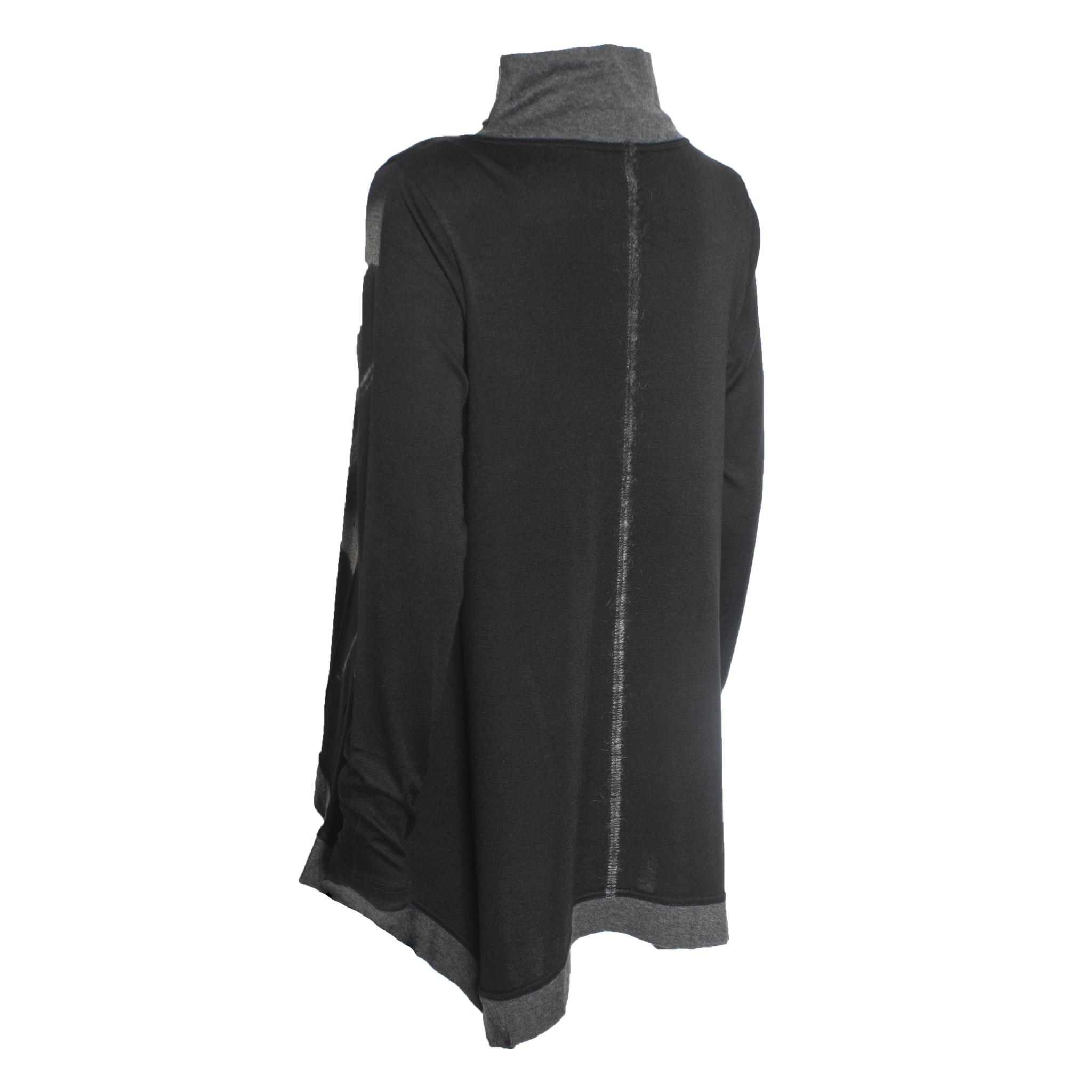 Yoshi Yoshi Yoshi Yoshi Mono Print Pullover - Black
