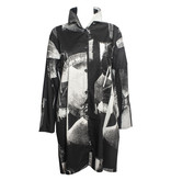 Xiaoyan Xiaoyan Long  Shirt - Black/Tan