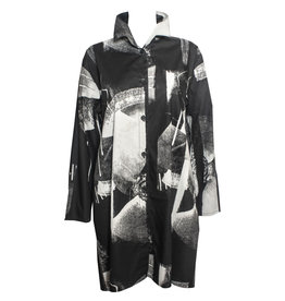 Xiaoyan Xiaoyan Long  Shirt - Black/Tan