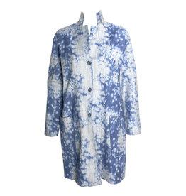 Xiaoyan Xiaoyan Long Jacket Blue Print - Blue Print