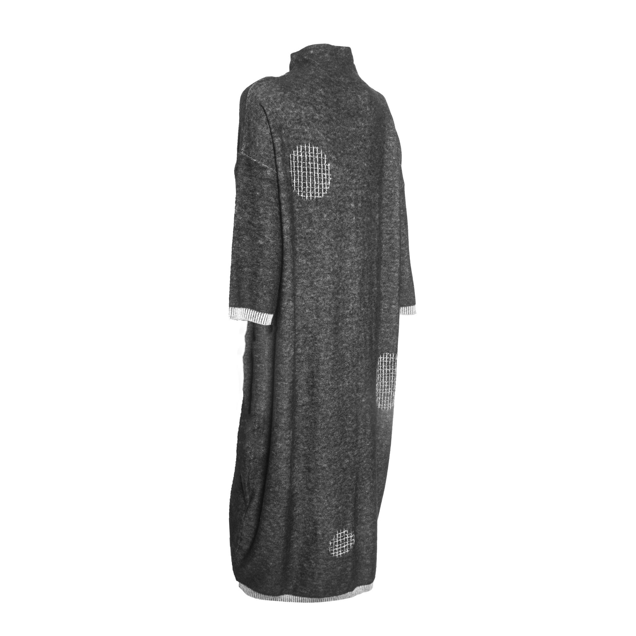 Xiaoyan Xiaoyan Wool Dress - Grey