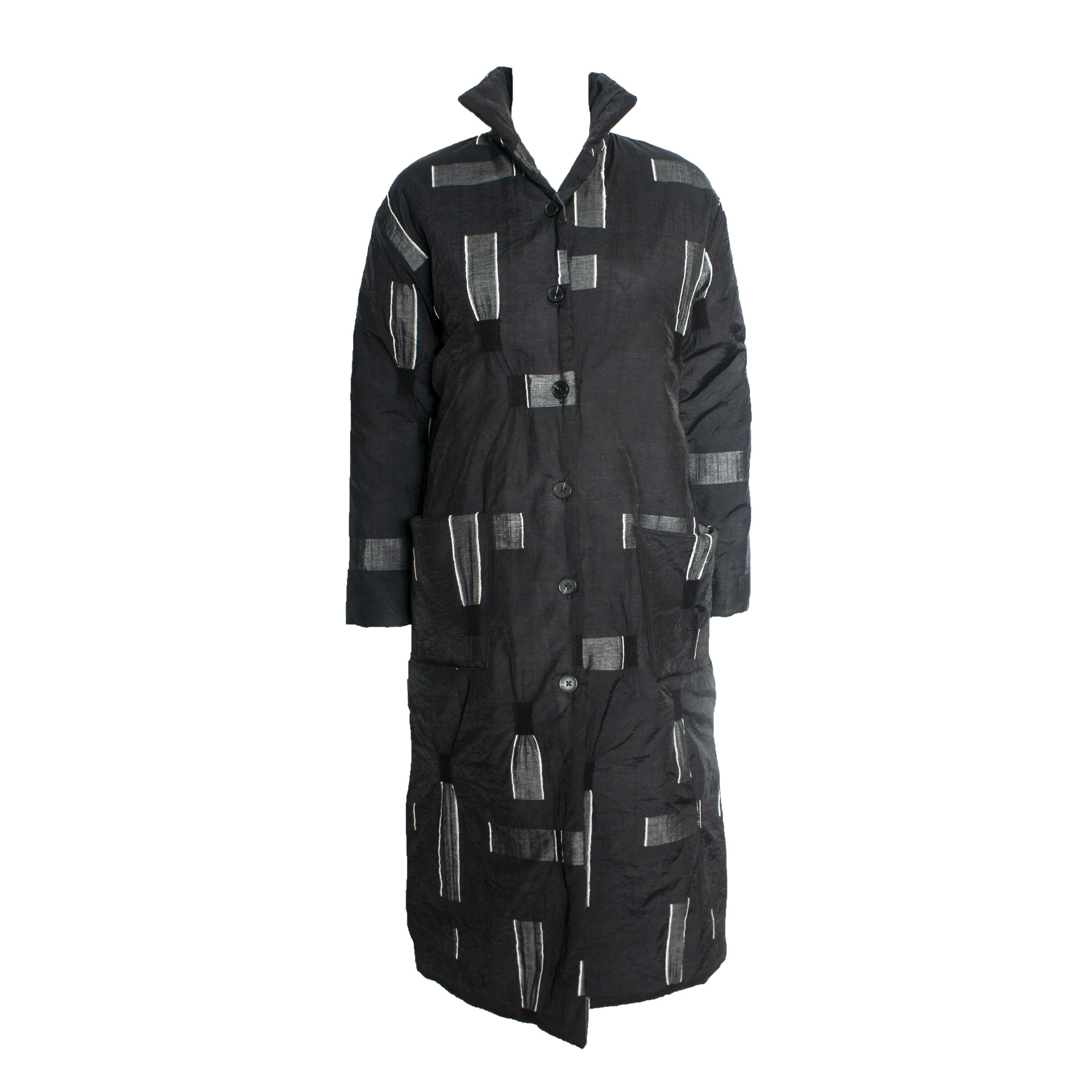 Xiaoyan Xiaoyan Long Coat - Black