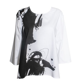 Xiaoyan Xiaoyan Top - White/Black