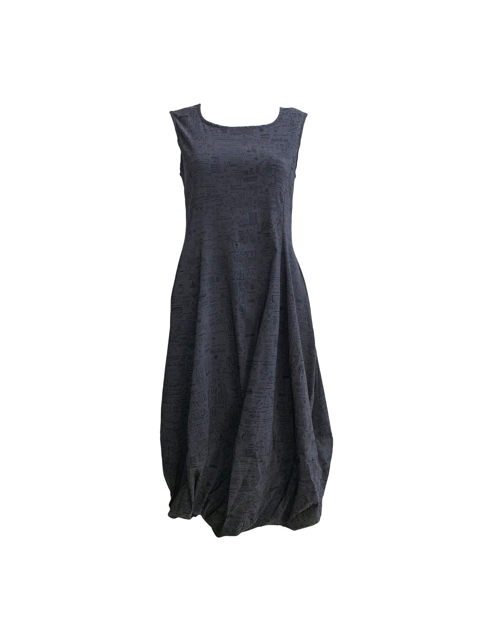 Studio Rundholz Studio Rundholz Print Dress - Dark Grey