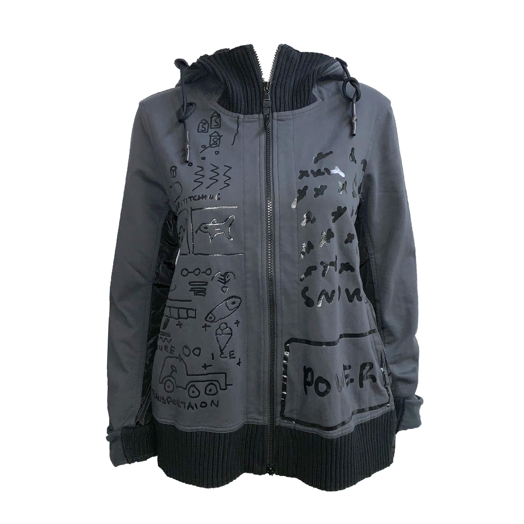 Studio Rundholz Studio Rundholz Print Jacket - Dark Grey