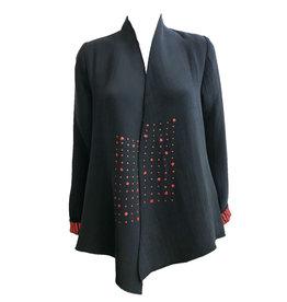 Deborah Cross Deborah Cross Jacket - Black/Red