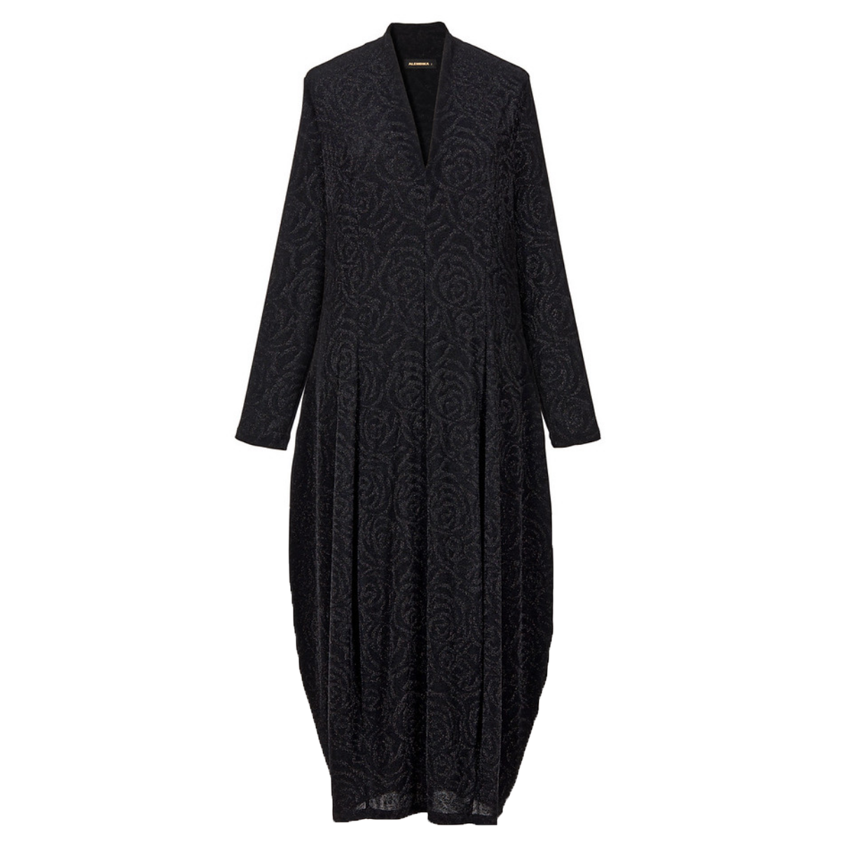 Alembika Alembika Dark Shimmer Dress - Black