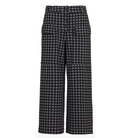 Alembika Alembika Wide Leg Crop Pants - Net Print