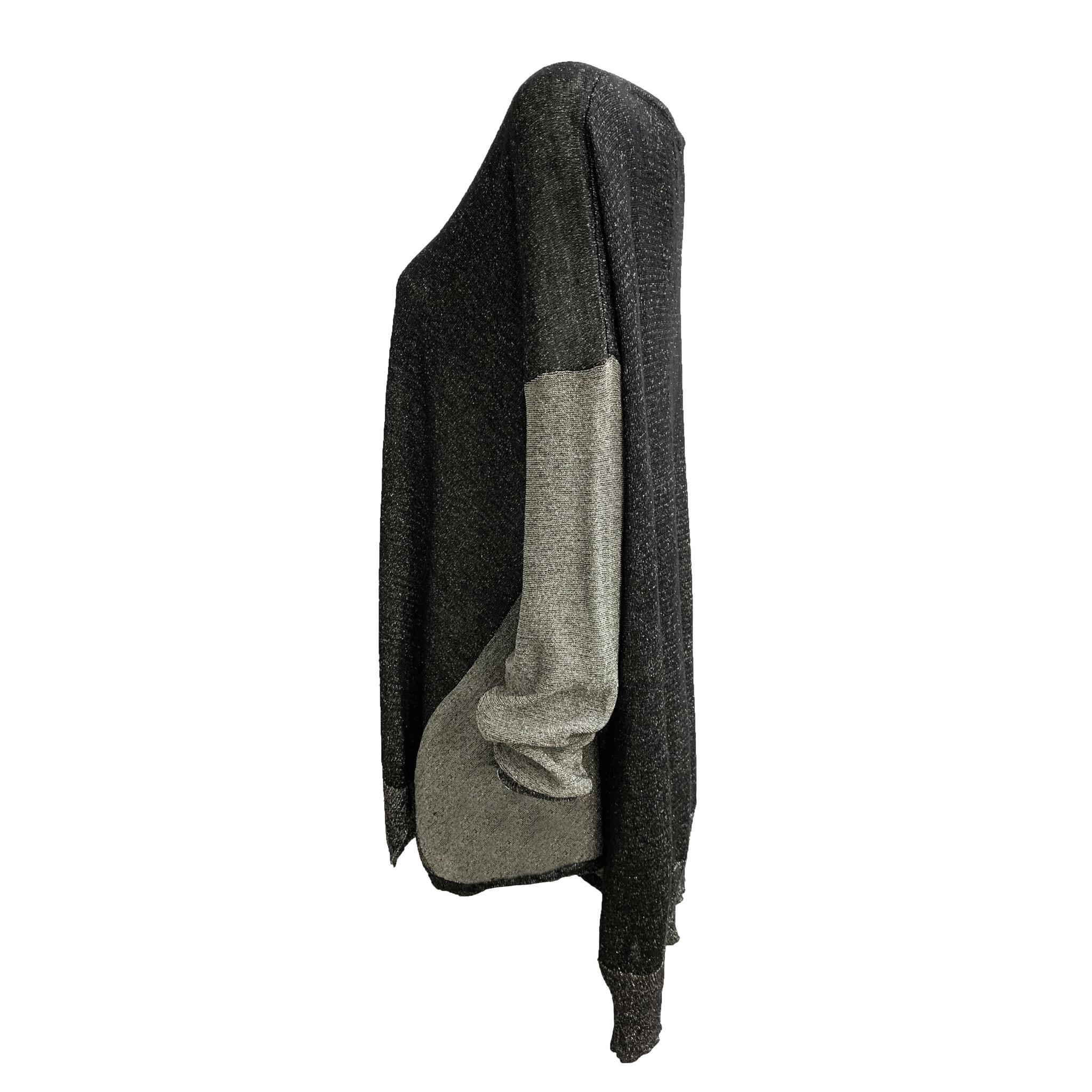 Alembika Alembika Shimmer V- Neck Sweather - Black
