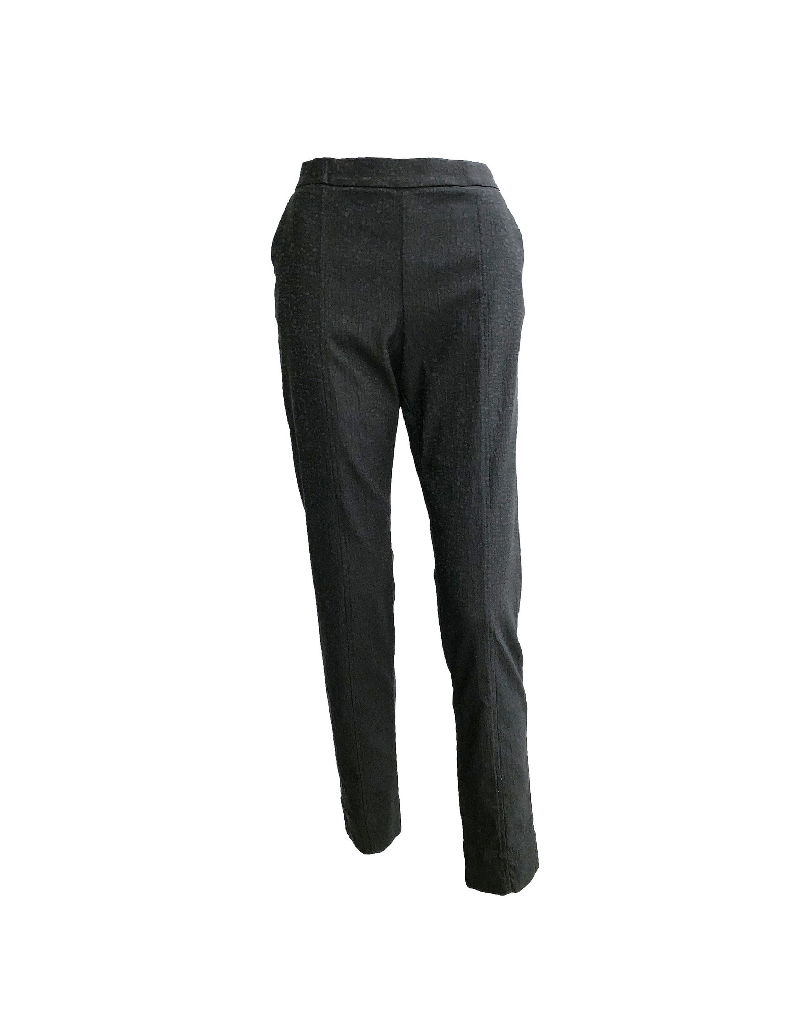 Alembika Alembika Straight Leg Pull Pants - Black