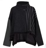Alembika Alembika Asymmeric Single Button Jacket - Black