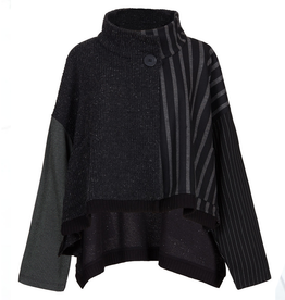 Alembika Alembika Asymmeric Single Button Jacket - Black