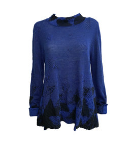 Crea Concept Crea Concept Mock Pullover - Blue