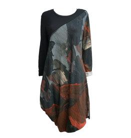 Crea Concept Crea Concept Print Dress - Multi