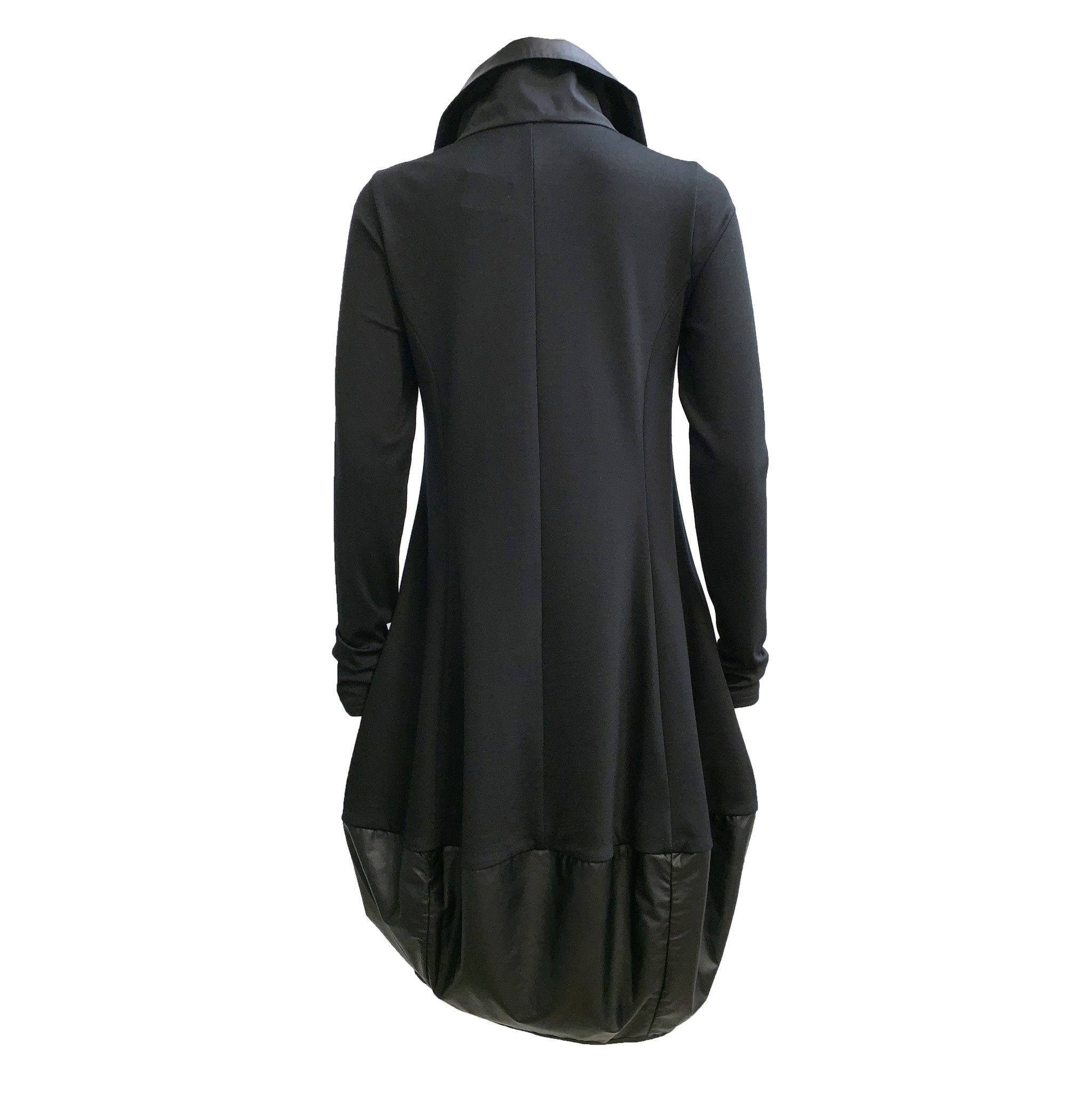 NY77 Design NY77 Design Zip Collar Tunic - Black