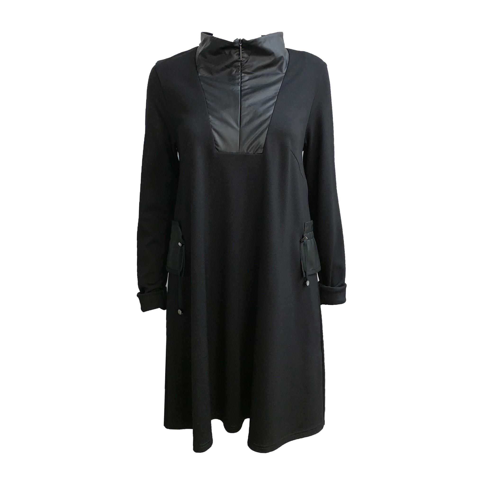 NY77 Design NY77 Design Zip Tunic - Black