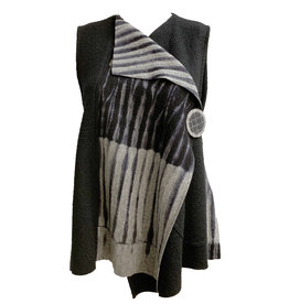 Herzenberg Herzenberg Shadow Vest - Grey/Black