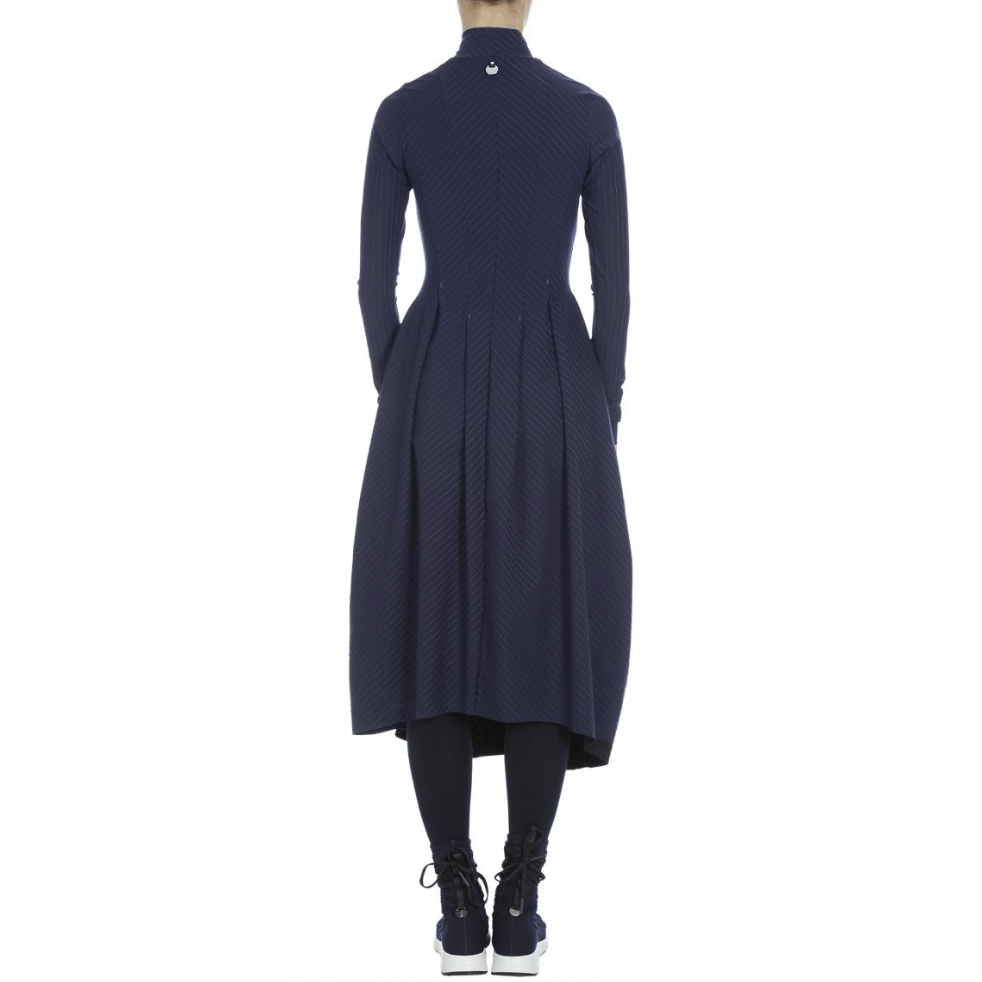 HIGH High At Length Dress - Navy