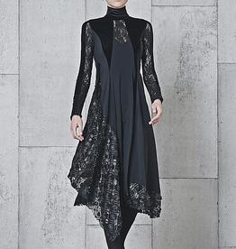 HIGH High Elitist Dress - Black