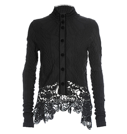 HIGH High Cover Up Jacket-Black