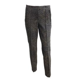 Cambio Cambio Ros Zip Pants - Cheetah Print