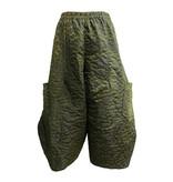 Sun Kim Sun Kim Spot Jacquard Ankle Pants-Spot