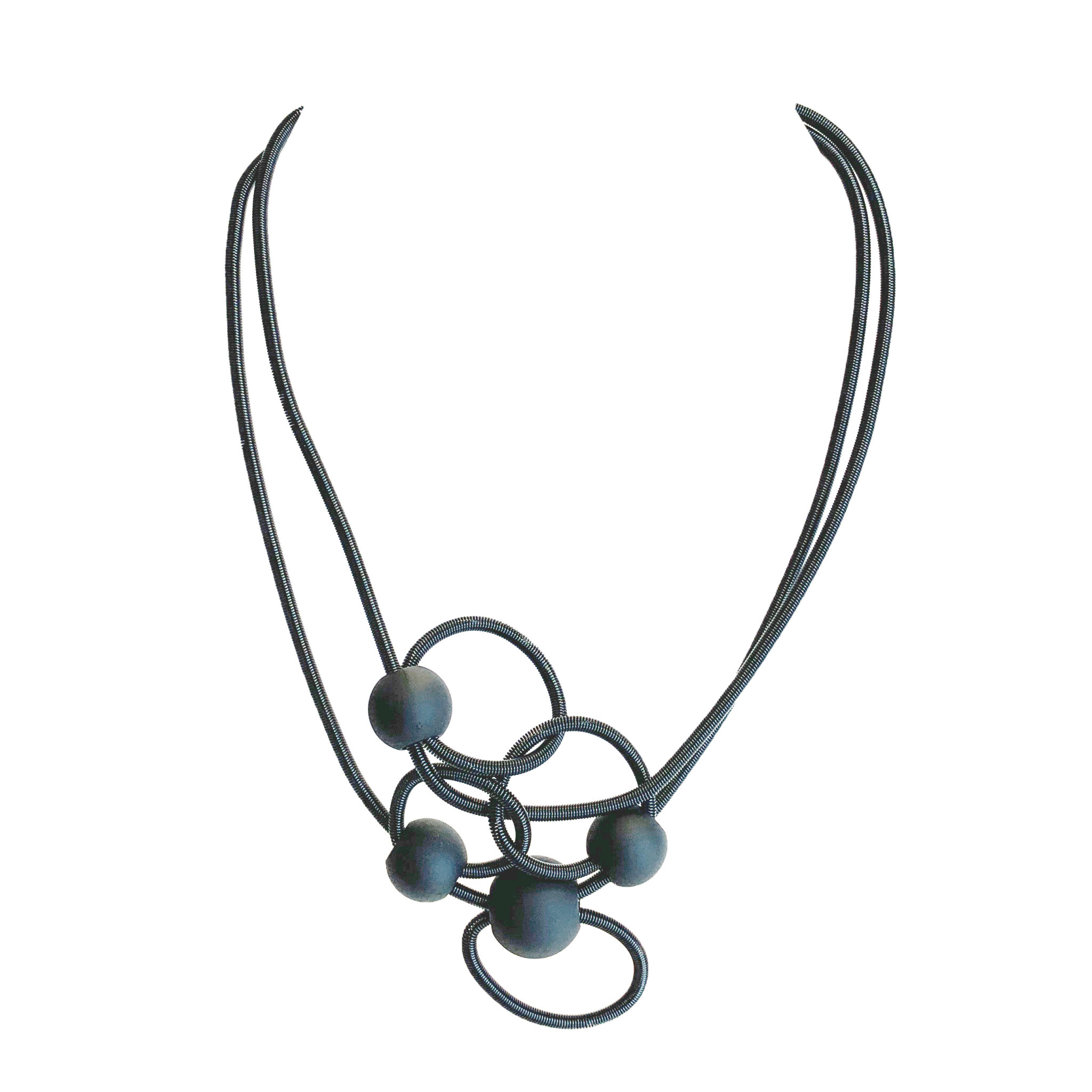 Sandrine Giraud Paris Sandrine Giraud Molecule Necklace