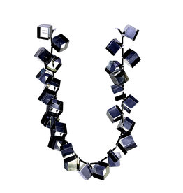Laurent Guillot Paris Laurent Guillot Cubes and Bugles Necklace