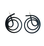 Samuel Coraux Paris Samuel Coraux Rubber Swirl Earrings