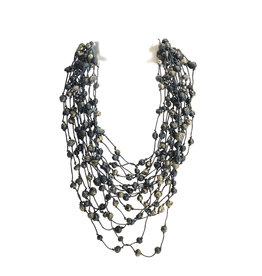 Escape From Paris Escape From Paris Multi Strand Beaded Necklace