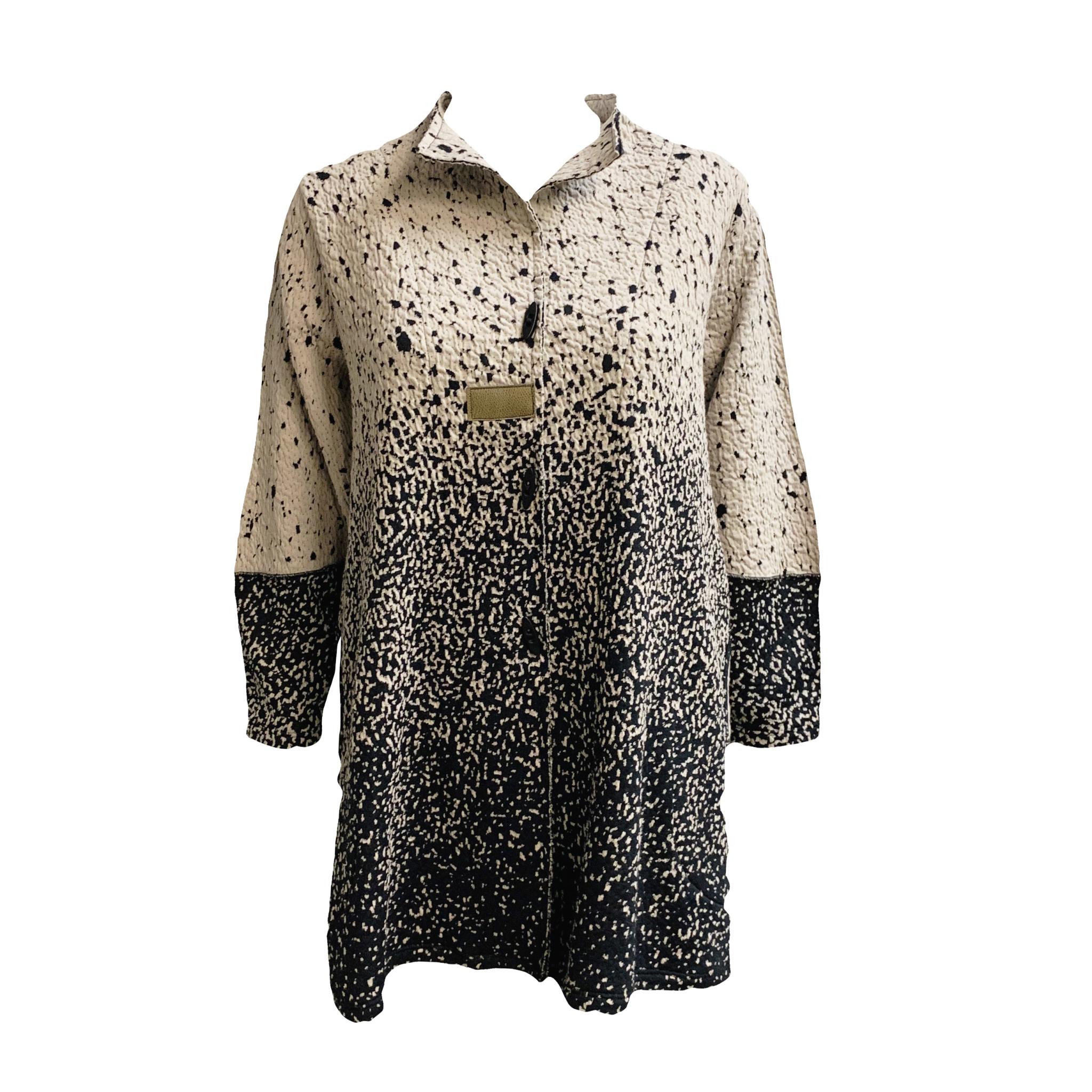 Kiyo KIYO Speckle Jacket - Rose/Black