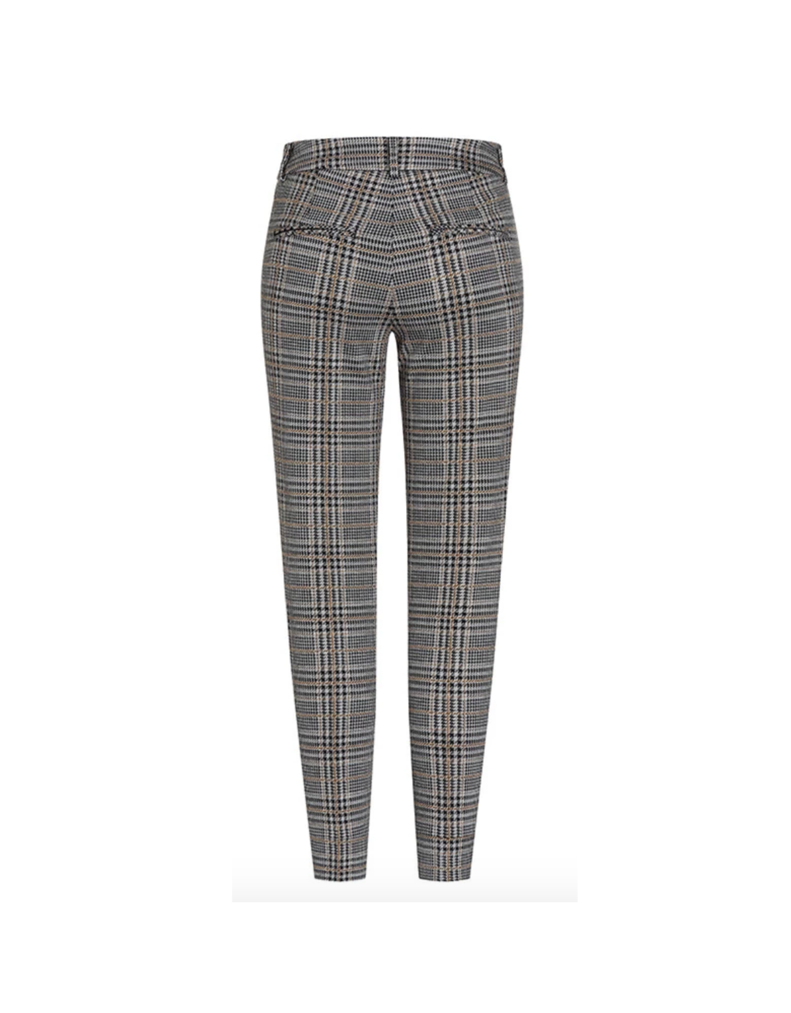 Cambio Cambio Ros Zip Pocket Pants - Houndstooth Print