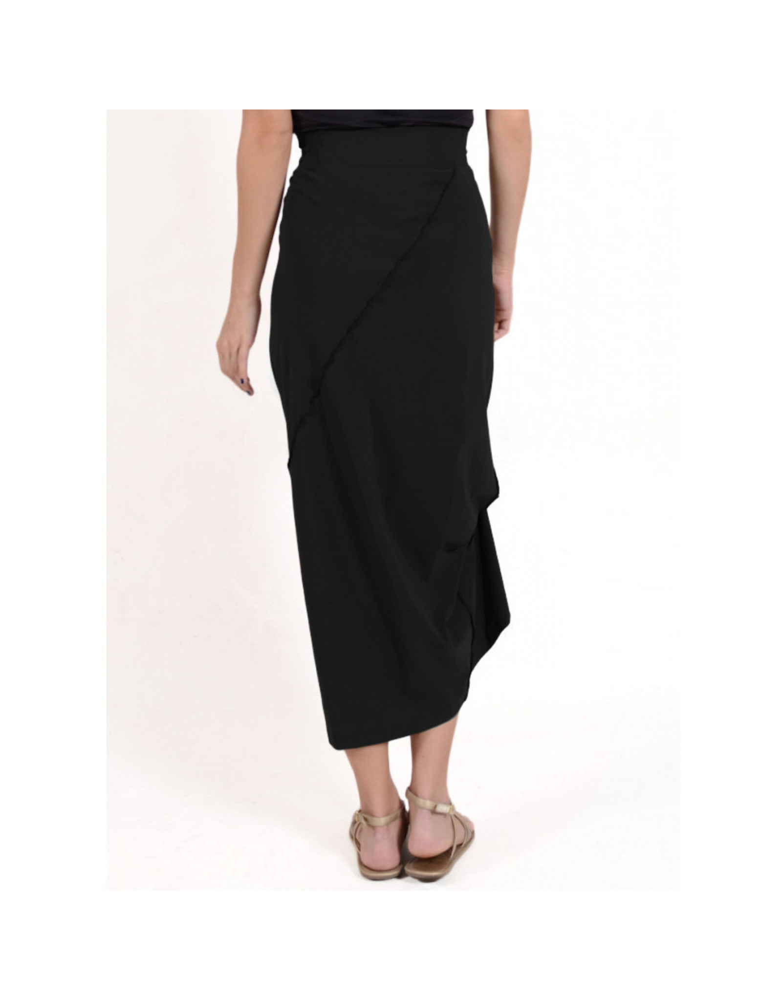 Porto Porto Napolean Long Skirt - Black
