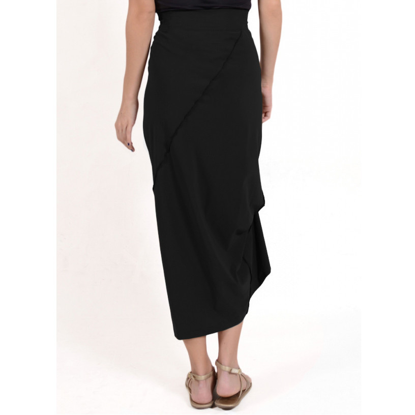 Porto Porto Napolean Long Skirt - Black