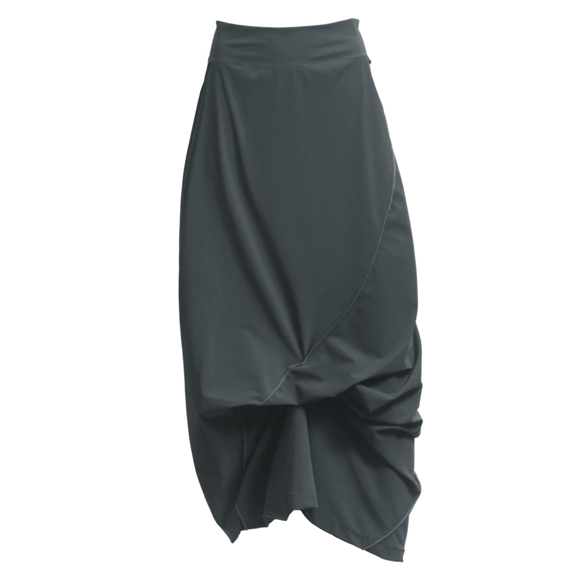 Porto Porto Napolean Long Skirt - Nickel