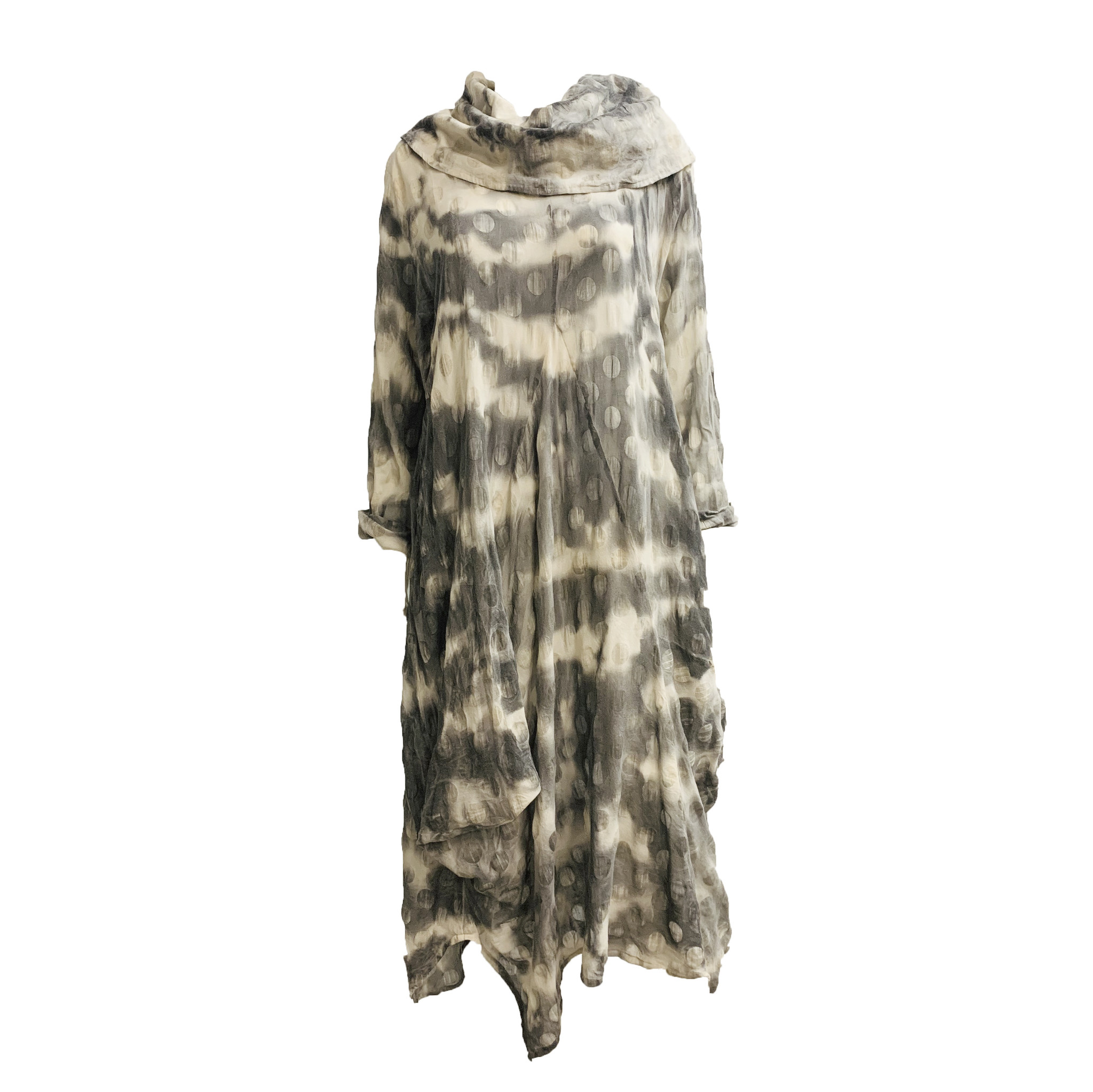 Dress To Kill Dress To Kill Scrunch Fan Dress Black O/S