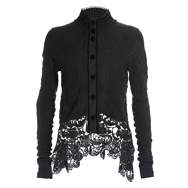 HIGH High Cover Up Jacket-Black
