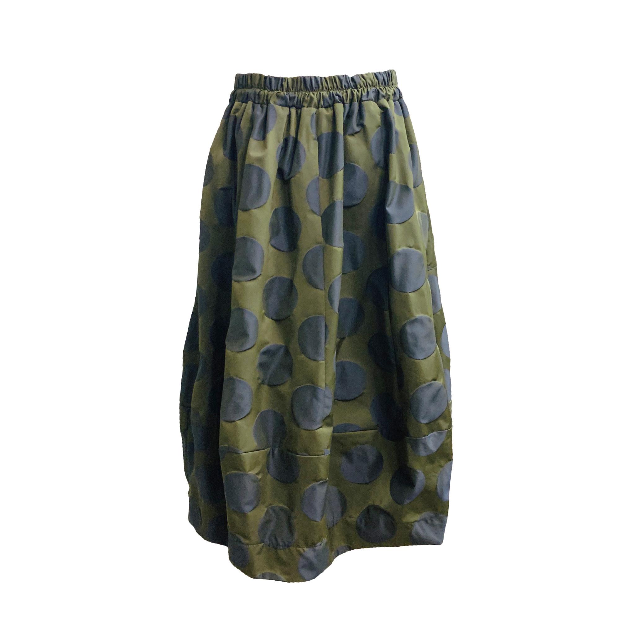 Sun Kim Sun Kim Midtown Skirt - Navy Dot
