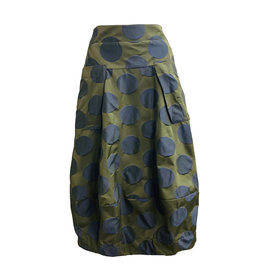 Sun Kim Sun Kim Midtown Skirt - Navy Dot