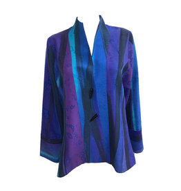 Kay Chapman Designs Kay Chapman Riding Jacket - Turq/Purple/Splatter