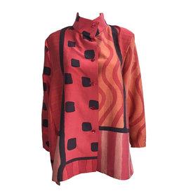 Kay Chapman Designs Kay Chapman Issay Patchwork- Coral