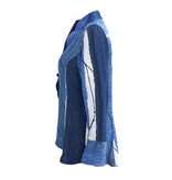 Kay Chapman Designs Kay Chapman Riding Jacket - Navy/Blue/White