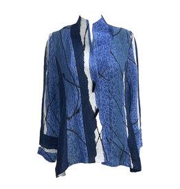 Kay Chapman Designs Kay Chapman Riding Jacket - Navy/Blue/White